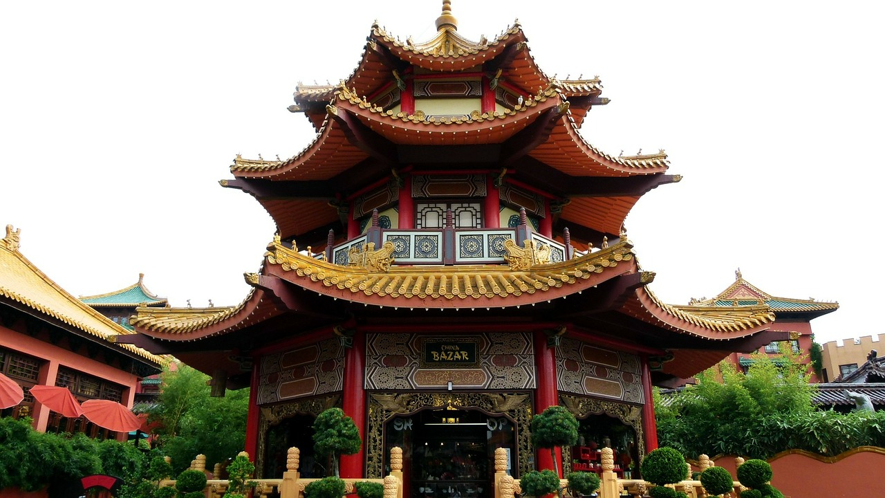 pagoda china far east free photo
