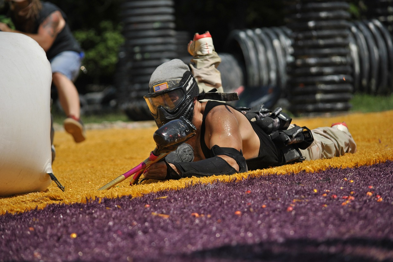 paintball sports extreme free photo