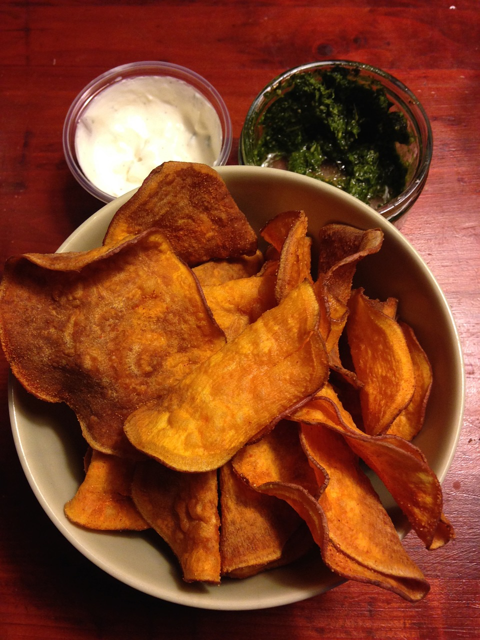 paleo chips sweet potato chips healthy free photo