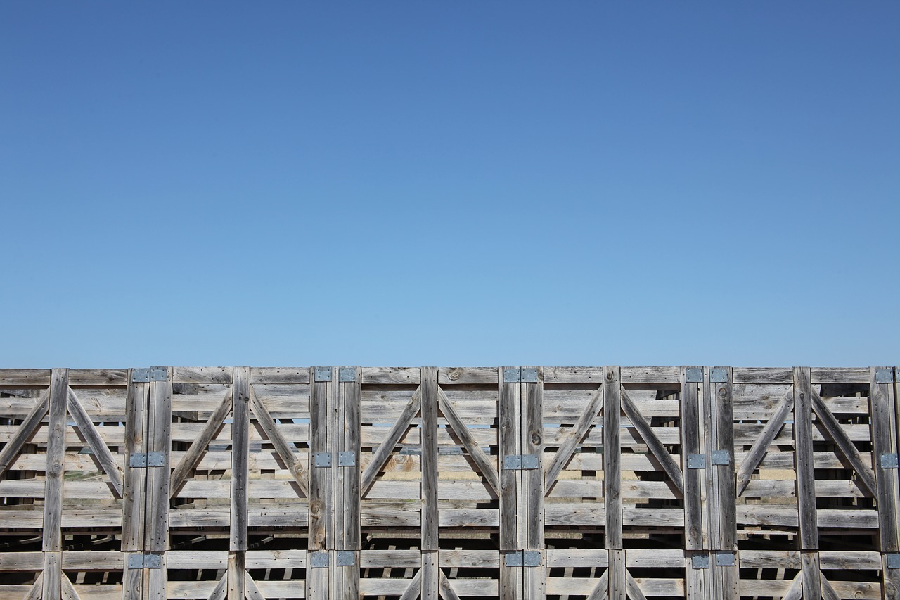 pallets sky navarre free photo