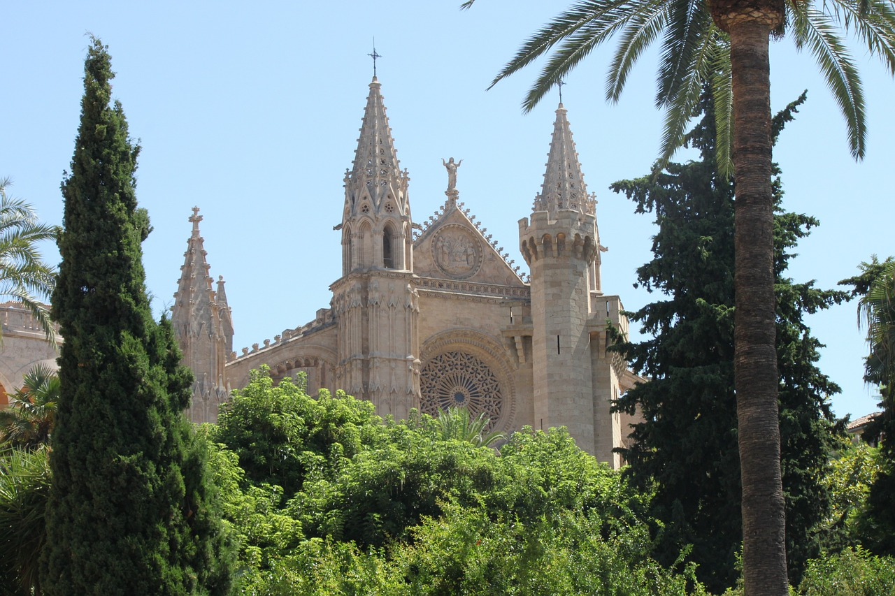palma palma de mallorca church free photo
