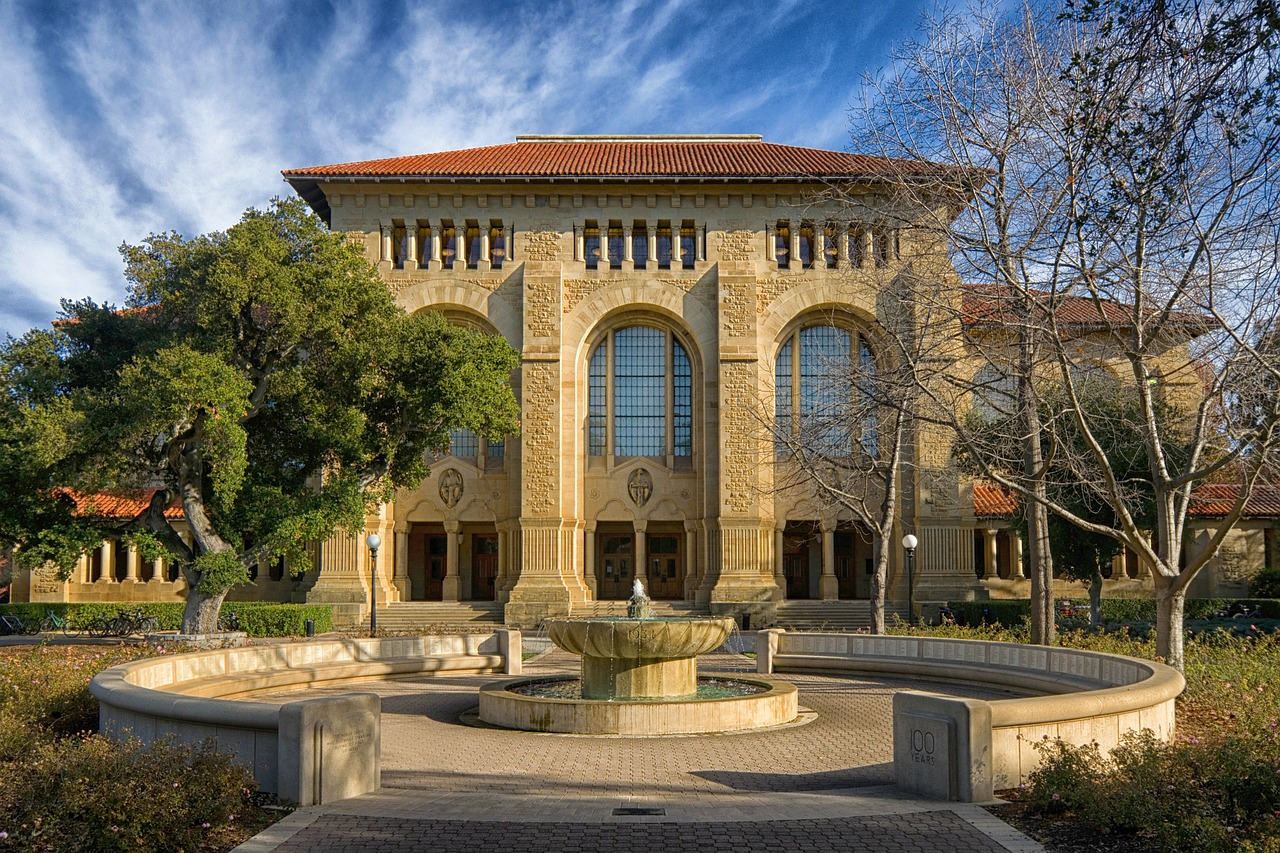 palo alto california stanford university free photo