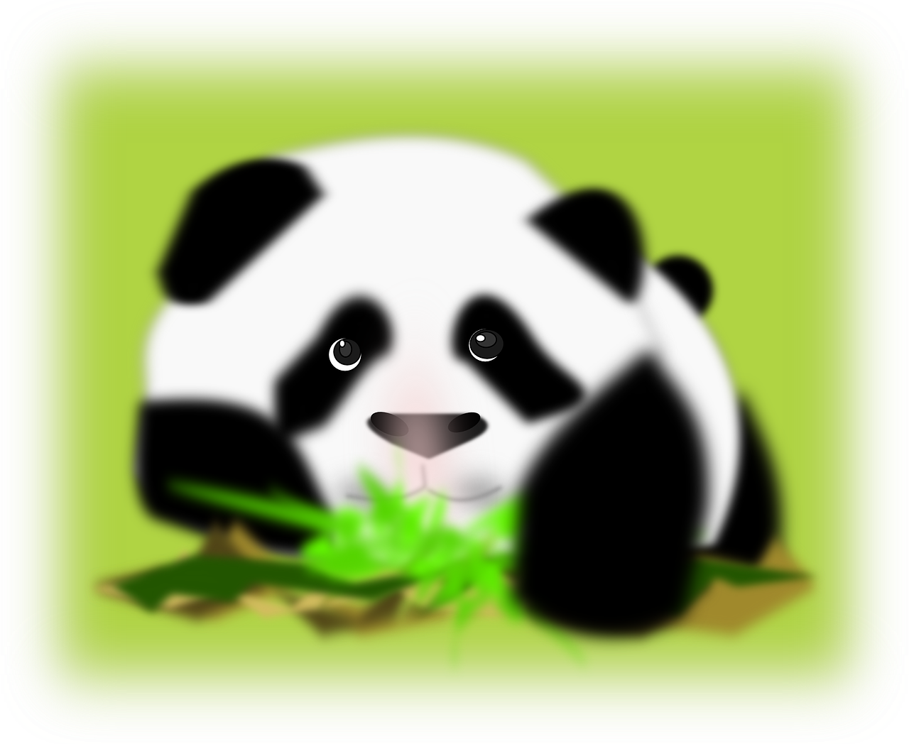 panda,bear,back,white,face,wildlife,chinese,mammal,animal,furry,cute,china,free vector graphics,free pictures, free photos, free images, royalty free, free illustrations, public domain