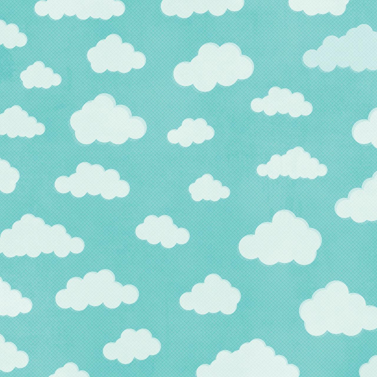 Paper Background Scrapbooking Paper Clouds Sky Digital Design Free Image From Needpix Com