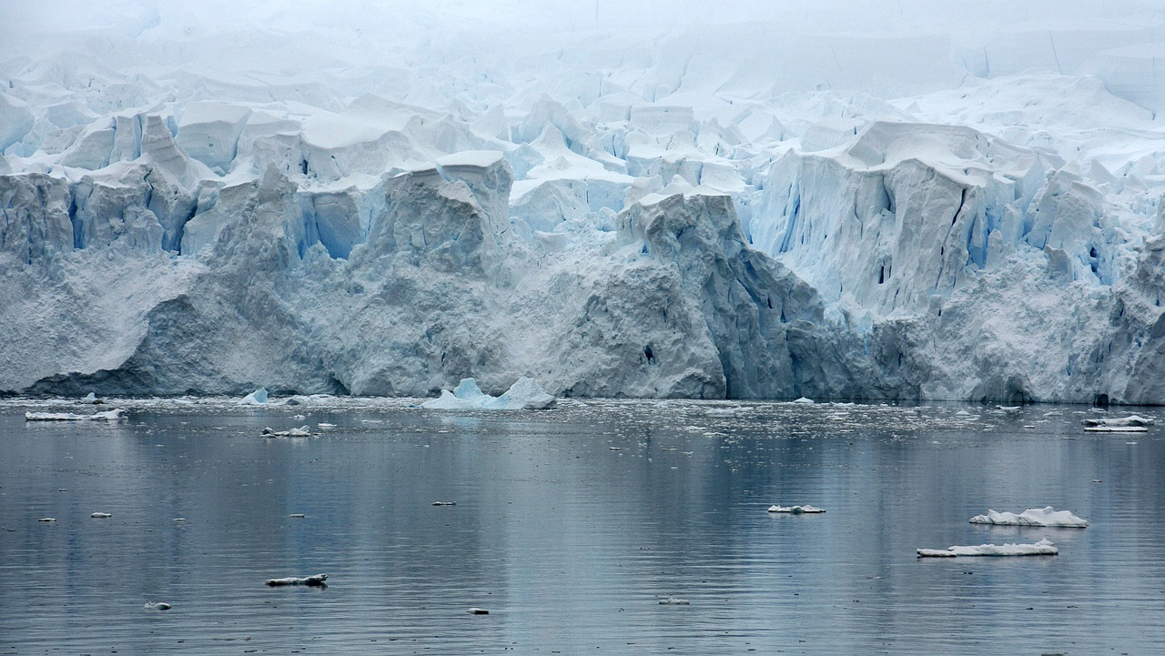 paradice bay antarctica glacier free photo