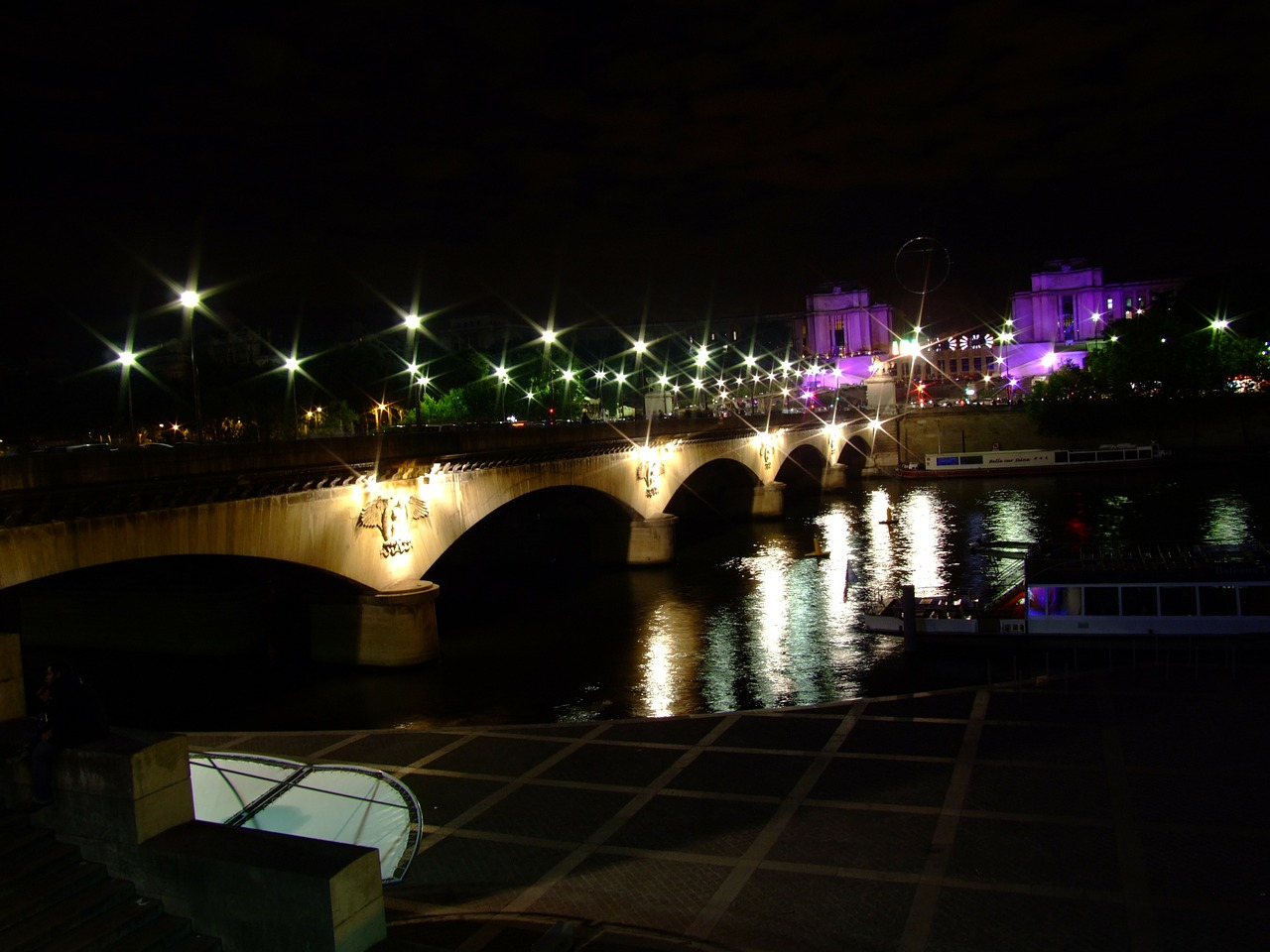 paris france bridge free photo