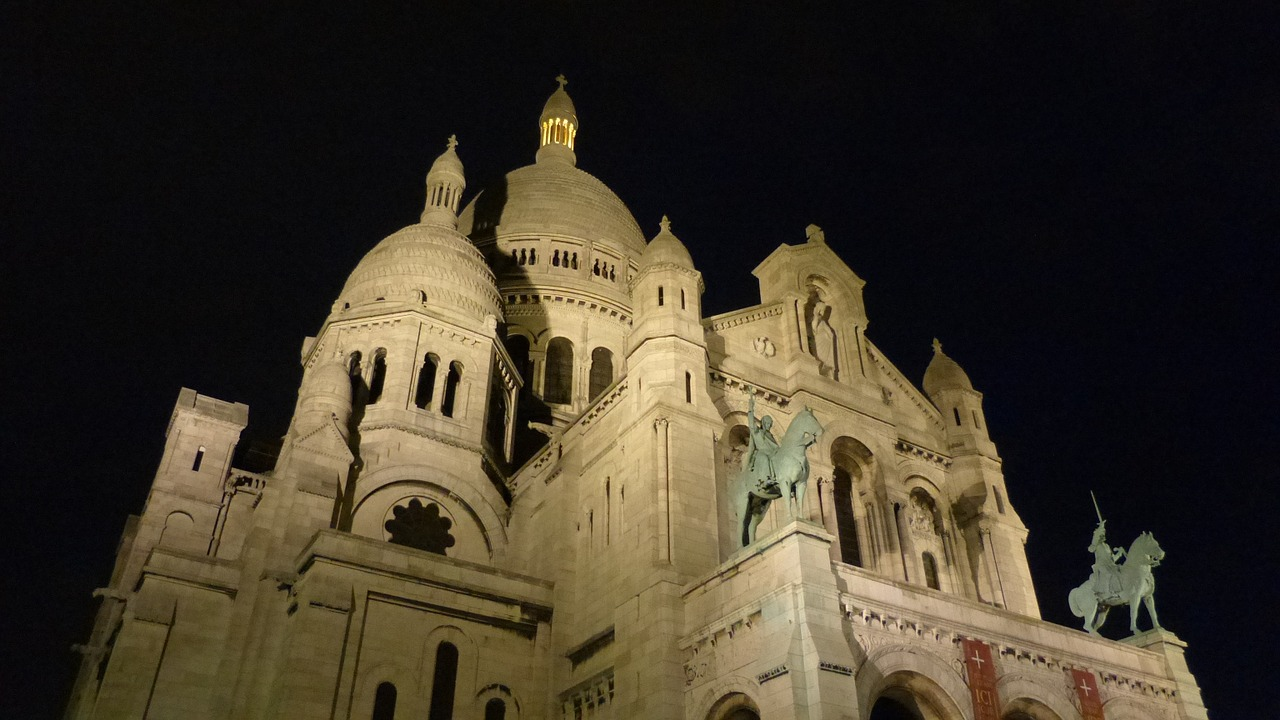 paris france sacré coeur free photo