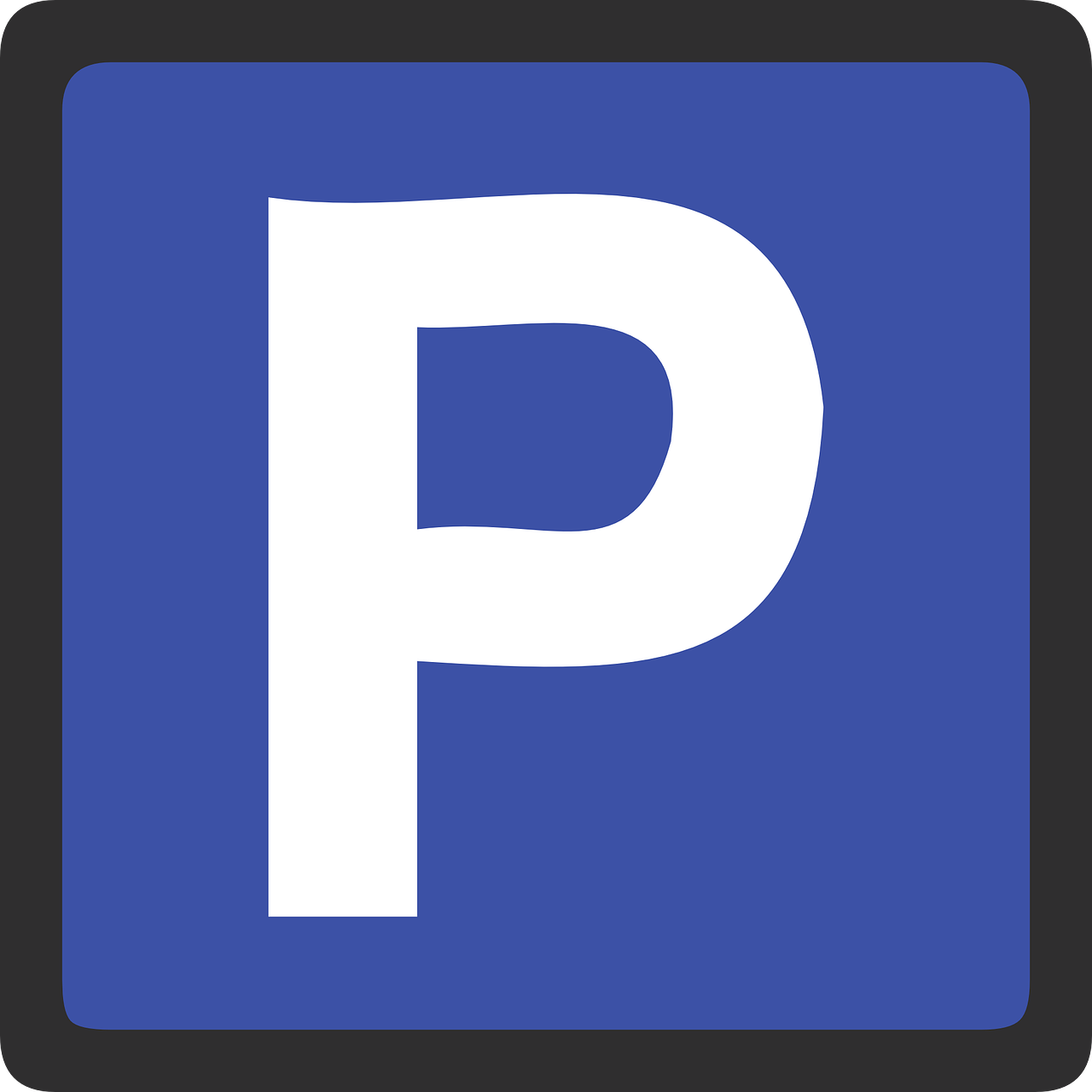 parking sign signage free photo