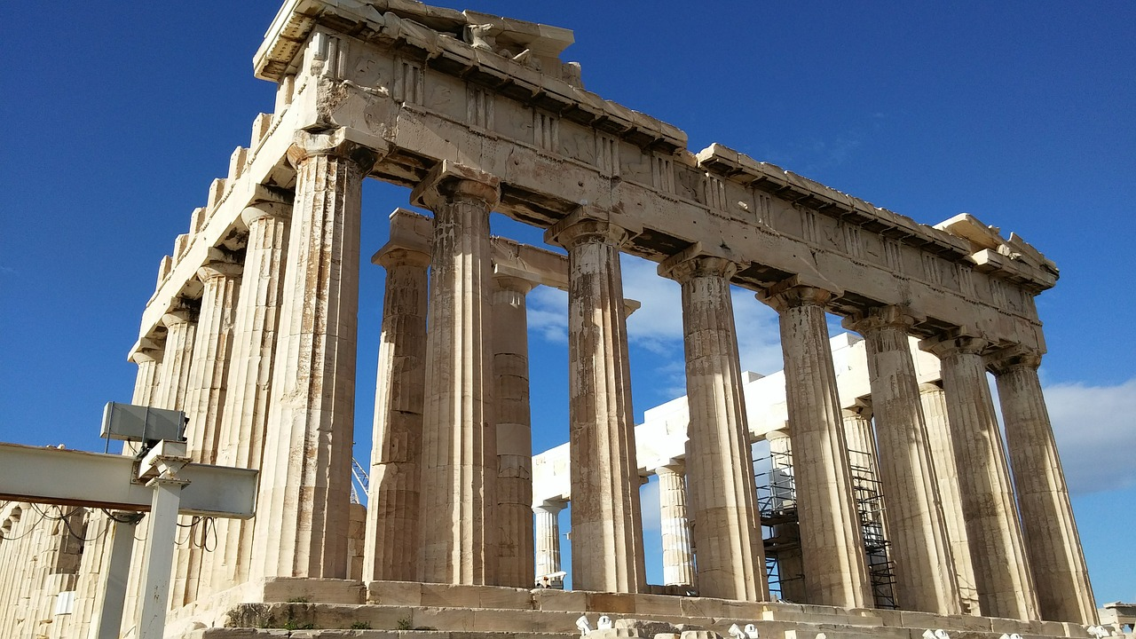 parthenon athens greece free photo