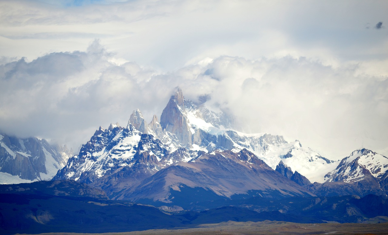 patagonia peaks neves free picture