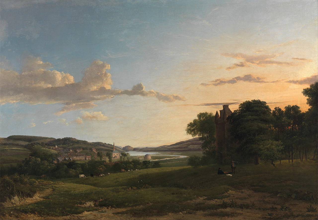 patrick nasmyth painting oil on canvas free photo