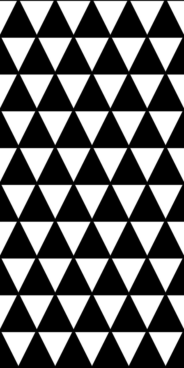pattern triangle diamond free photo