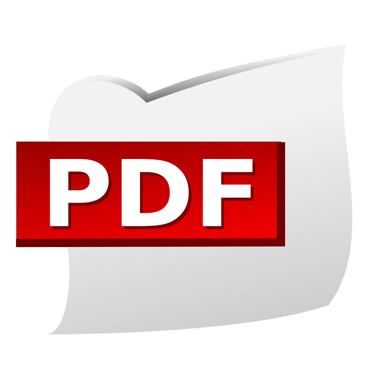 pdf document file type free photo