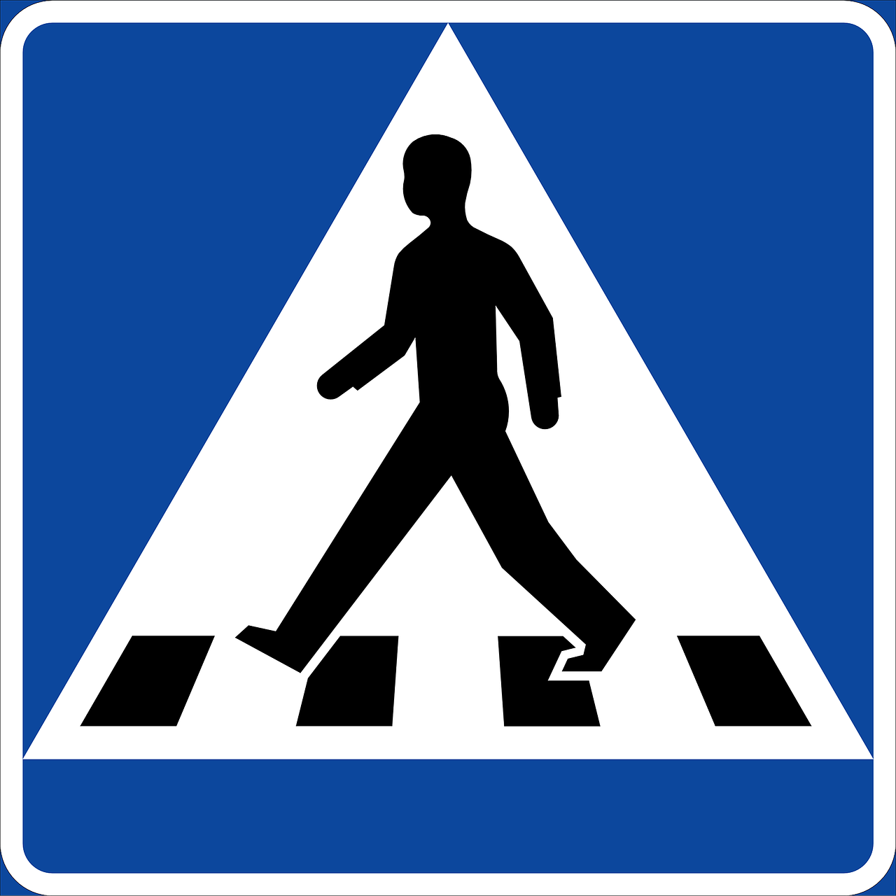 pedestrians crossing traffic free photo