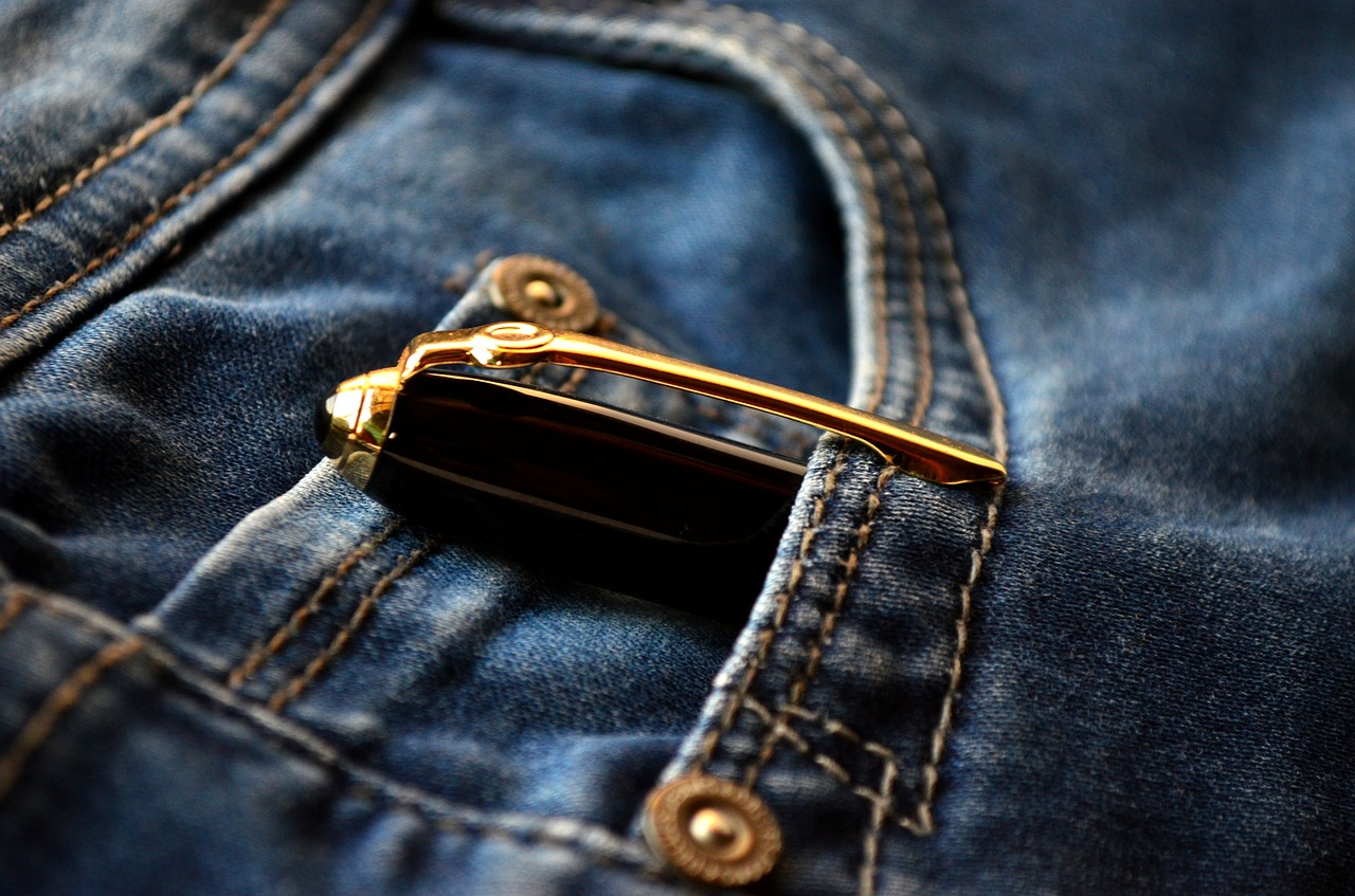 pen jeans blue free photo
