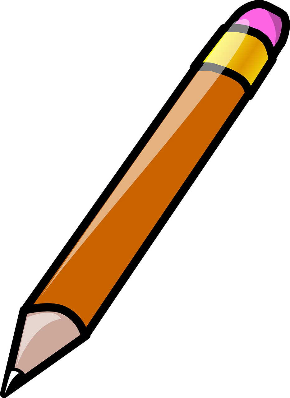 pencil stationery write free photo