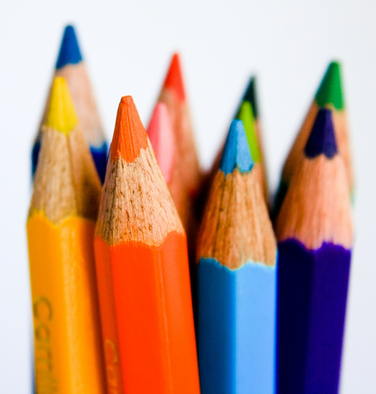 pencils colors paint free picture