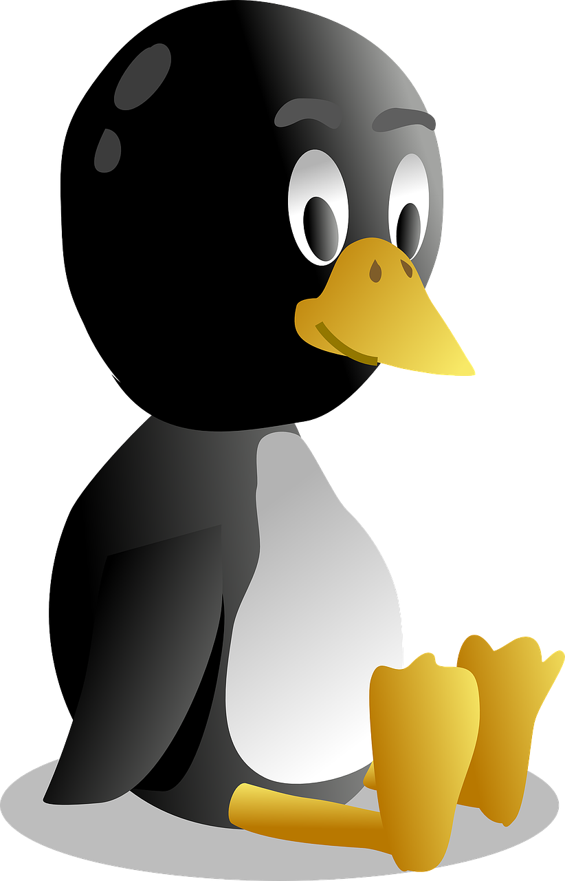 penguin tux animal free photo