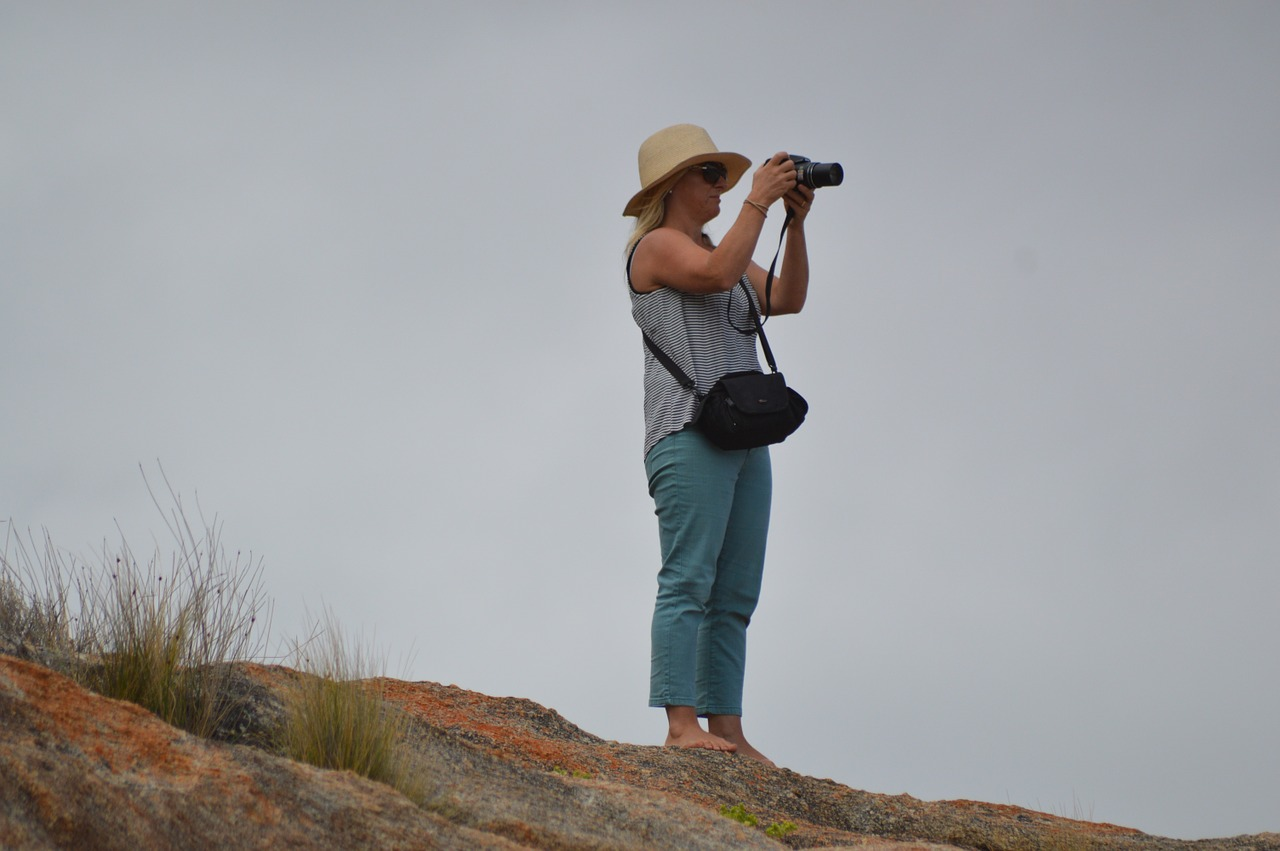 people lookout viewpoint free photo