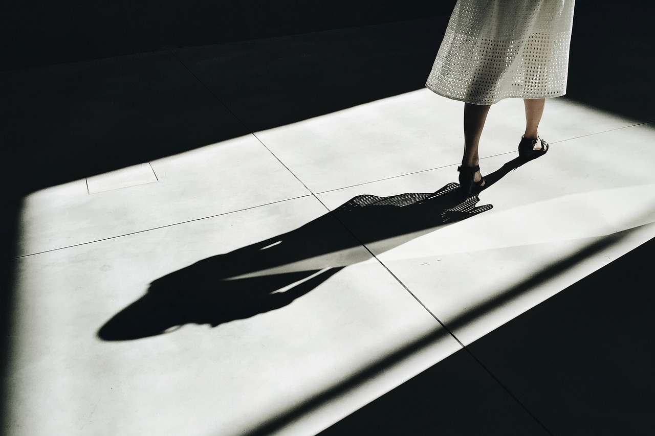 people woman shadow free picture