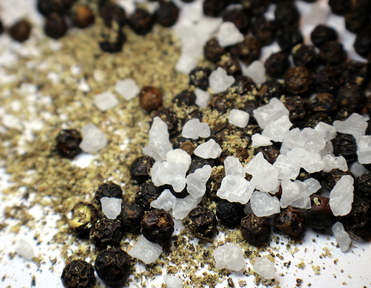 pepper salt grains free photo