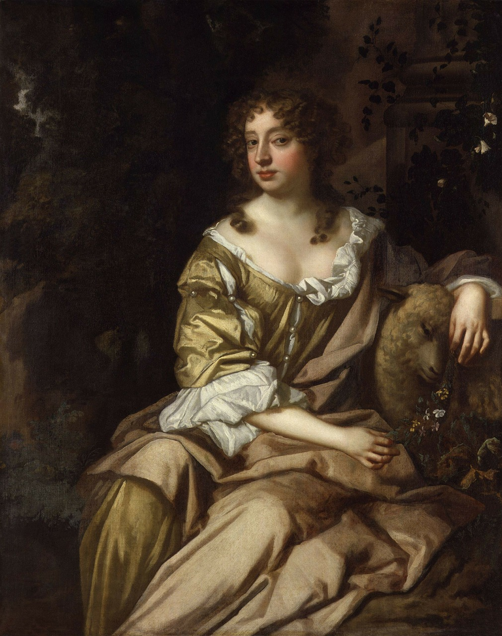 peter lely woman female free photo
