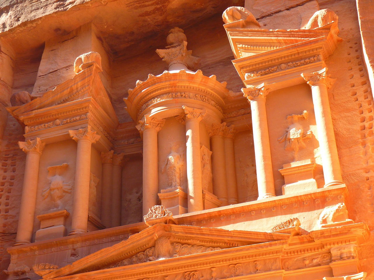 petra jordan treasury free photo