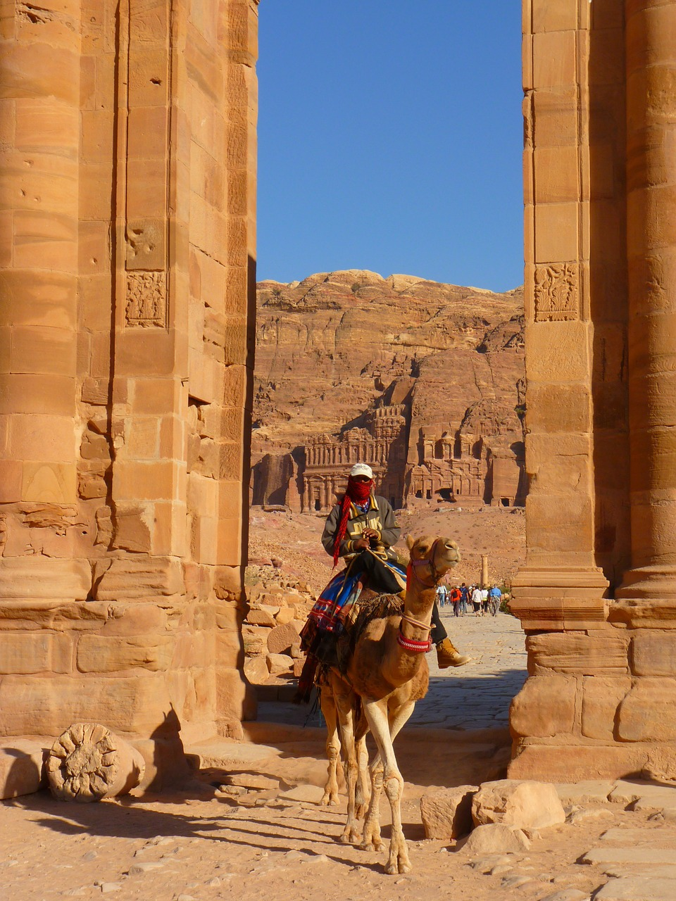 petra jordan holiday free photo