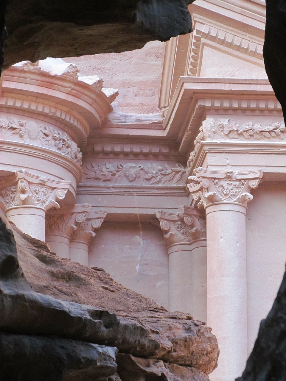 petra jordan desert free photo