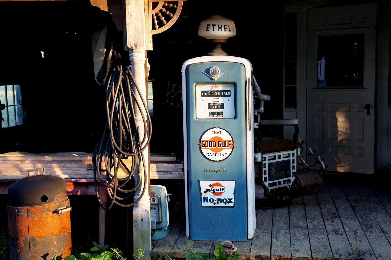 petrol stations antique gas pump free photo