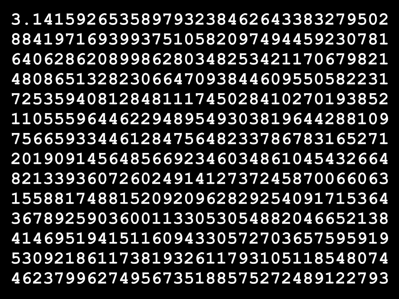 pi, círculo, diámetro, circunferencia, proporción, radio, número, constante, mates, matemáticas, matemático, irracional, trascendental, dígitos, decimal, trigonometría, geometría, aleatorio, aleatoriedad, infinito, interminable, computación, negro, blanco, imágenes gratis , fotos gratis, imágenes gratis, libres de derechos, ilustraciones gratis, dominio público