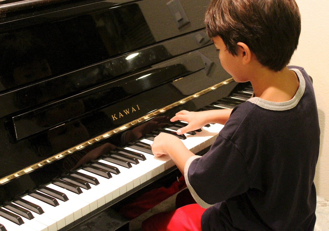 Download Free Photo Of Piano Boy Playing Learning Piano Lesson From Needpix Com