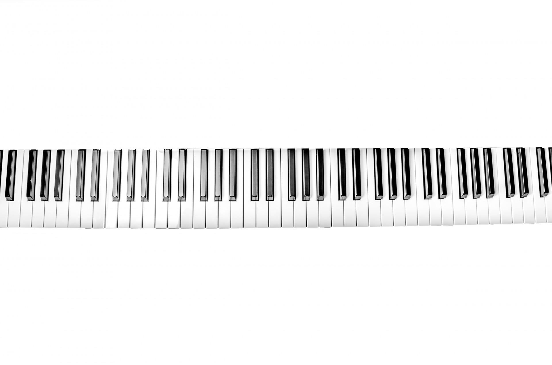 картинка клавиатура фортепиано на прозрачном фоне простые