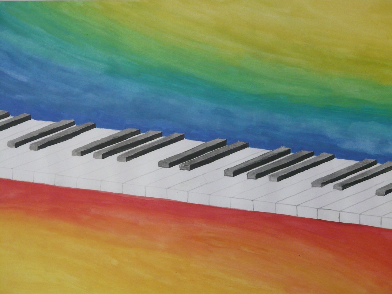 piano keys piano keys free photo