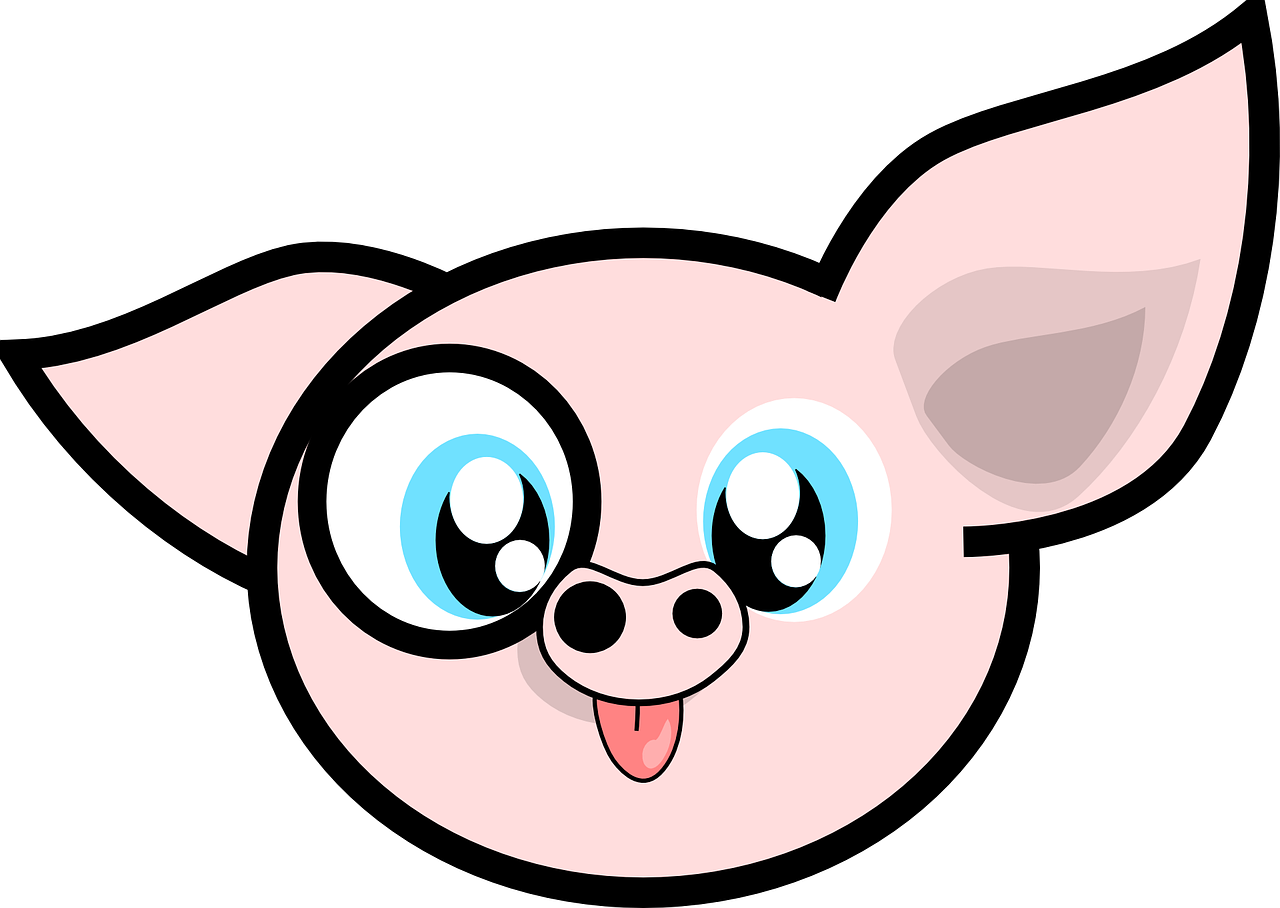 pig animal cartoon free photo