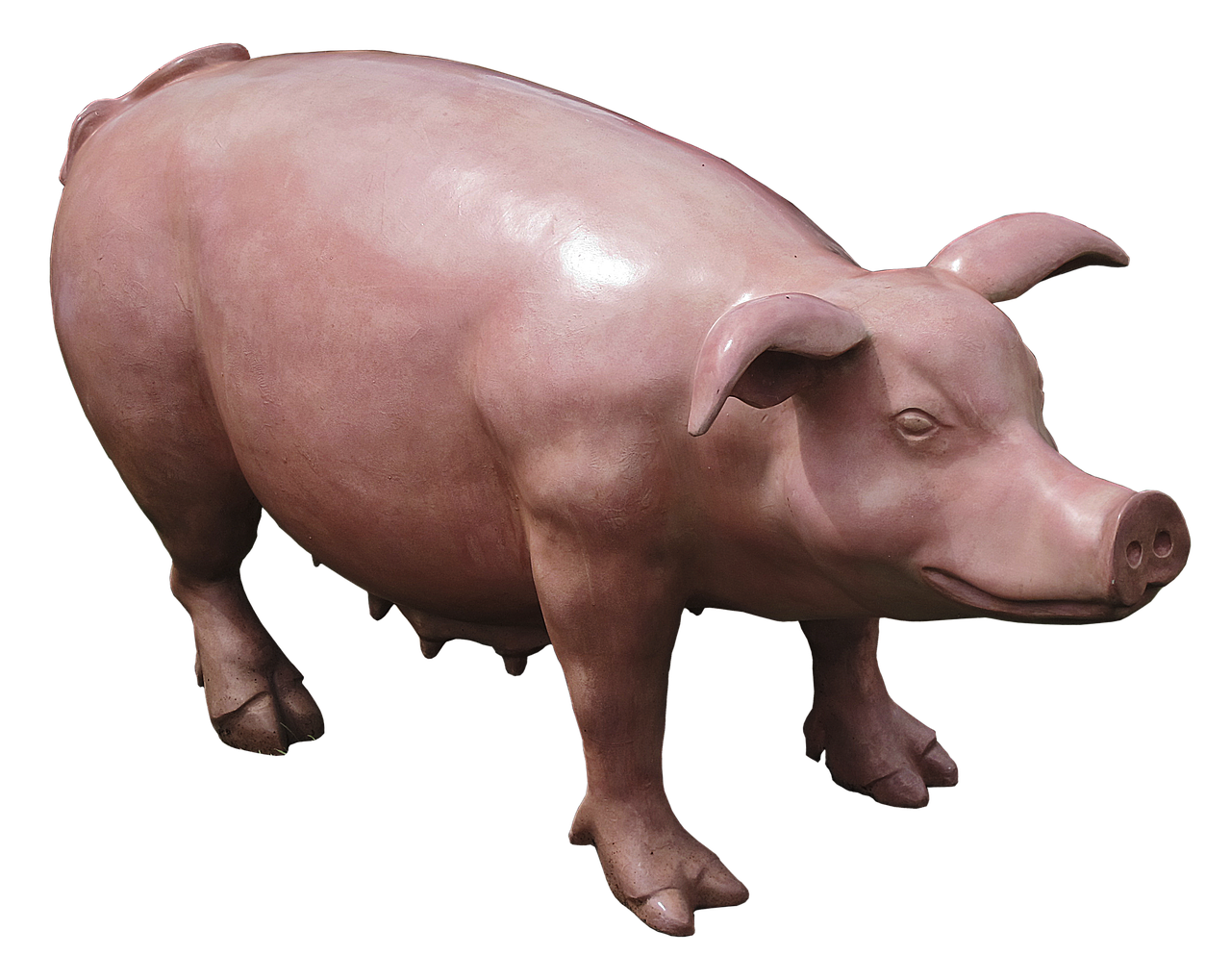 pig sow sculpture free photo