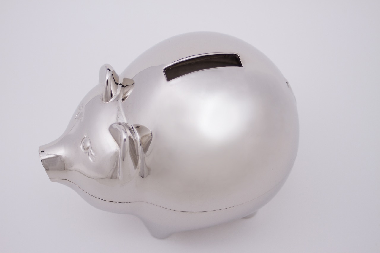 piggy bank save money free photo