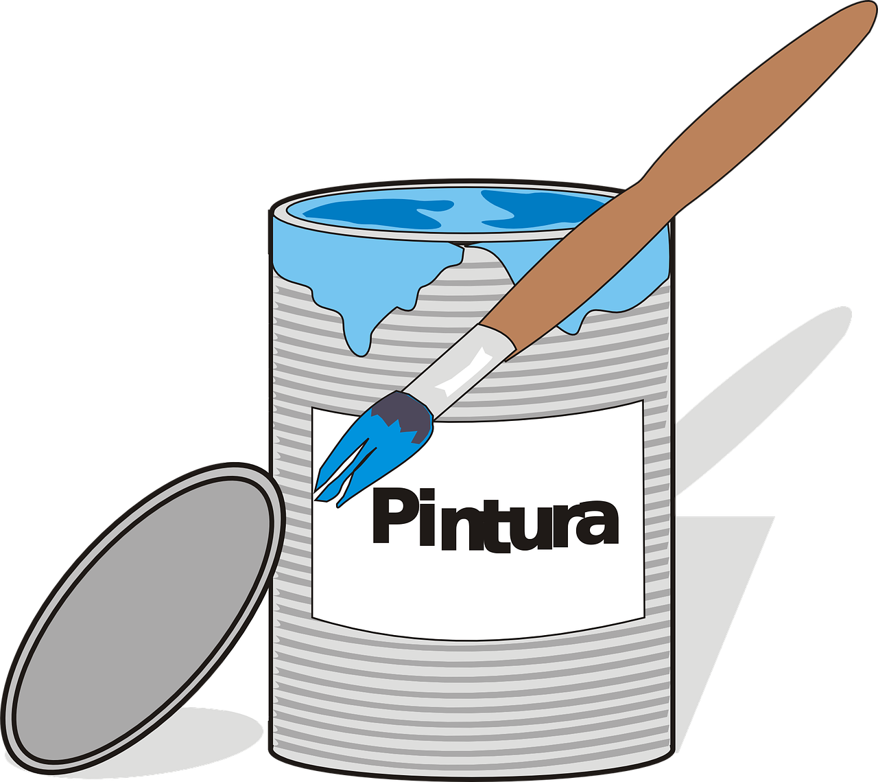 pintura paint can free photo
