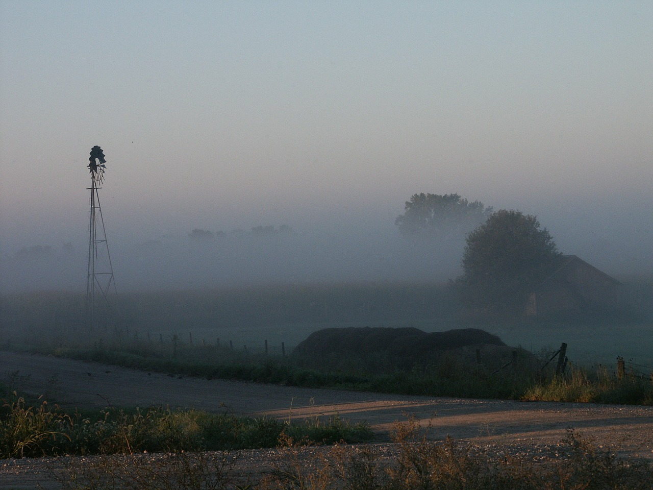 pinwheel windmill fog free photo