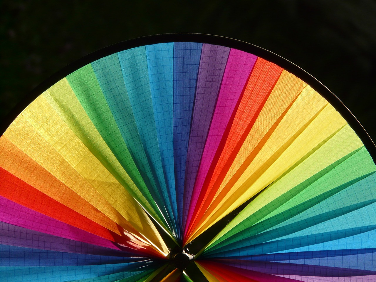 pinwheel wind colorful free photo
