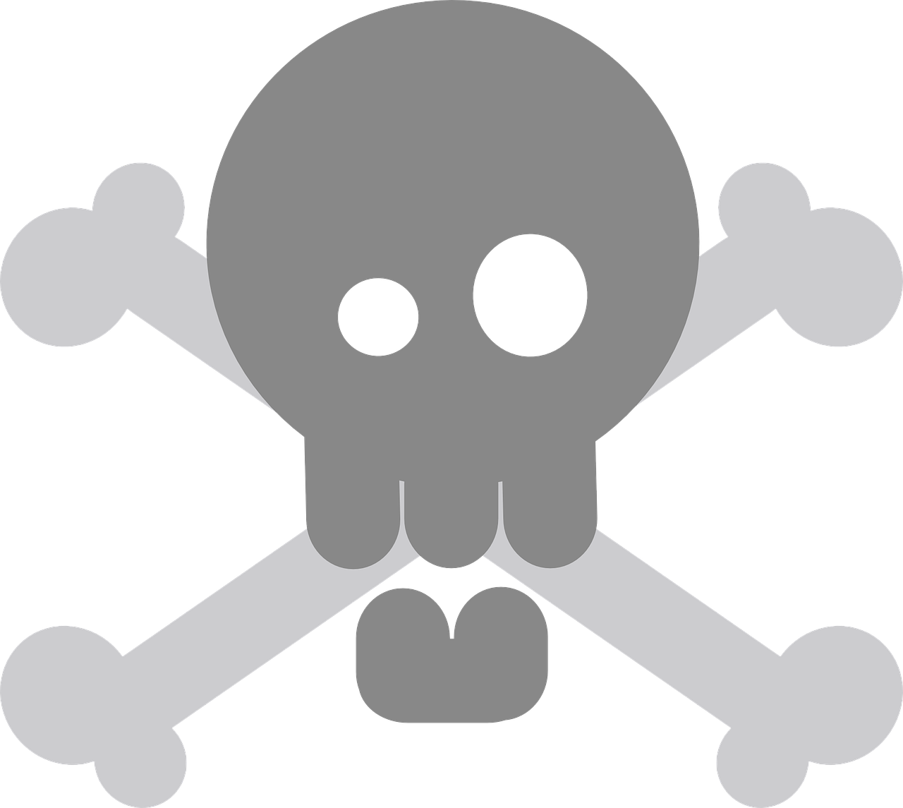 pirate,crossbones,skull,death's skull,fatal,deadly,skull and crossbones,death's head,bones,skeleton,crossed,remains,free vector graphics,free pictures, free photos, free images, royalty free, free illustrations, public domain