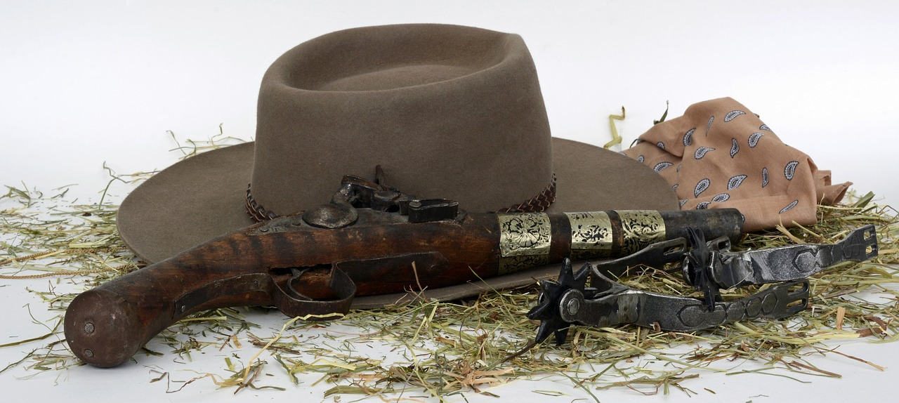 40799d12a4ccb Pistol,spores,hay,hat,wild west - free photo from needpix.com