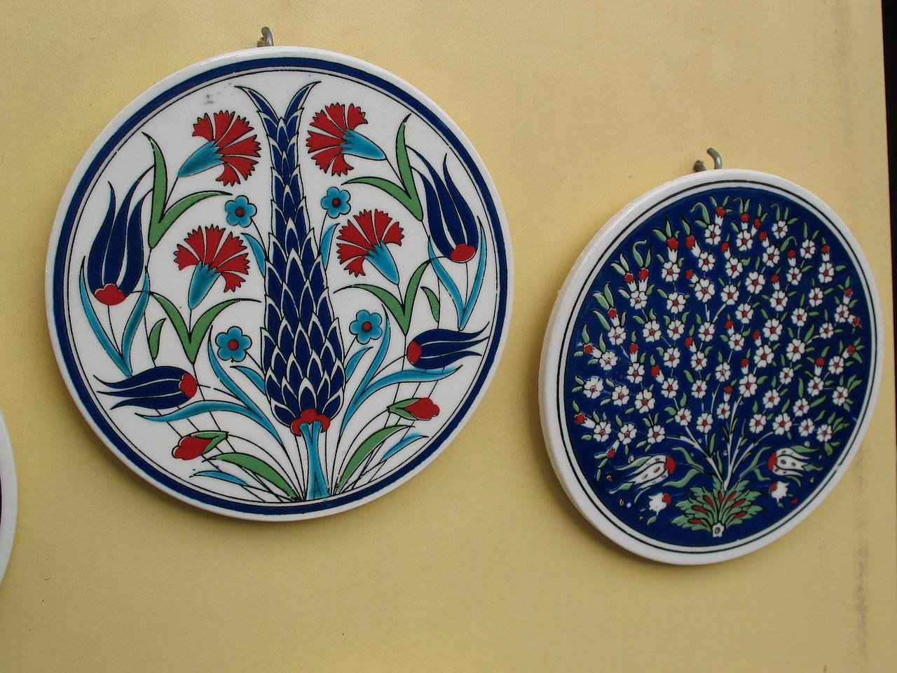 Plate Handmade Arts And Crafts Turkey Painting Free Image From Needpix Com