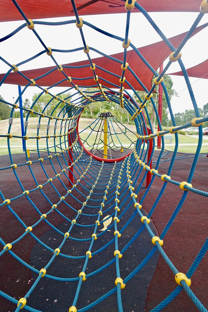 playground climbing frame free photo