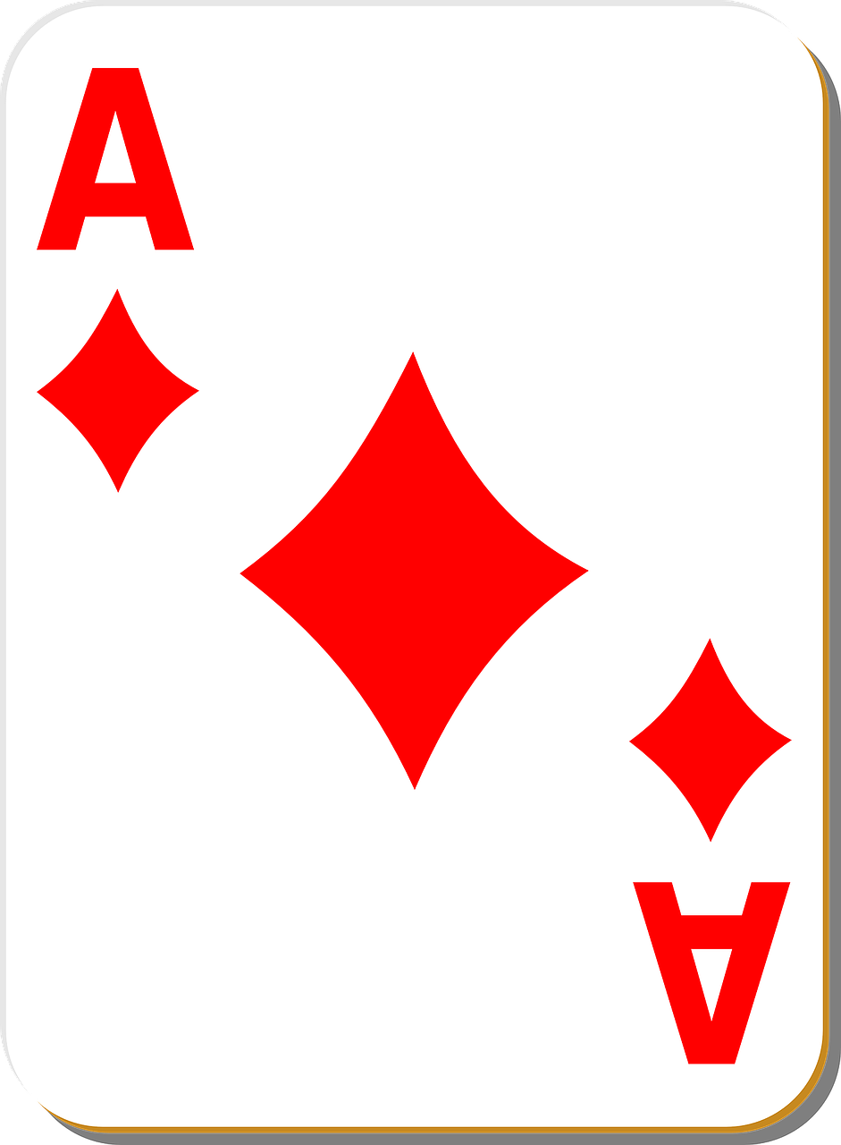 playing card,ace,diamonds,game,card,recreation,casino,gambling,poker,luck,leisure,vegas,risk,suit,gamble,playing,win,play,bet,lucky,blackjack,fun,isolated,betting,gaming,winning,victory,free vector graphics,free pictures, free photos, free images, royalty free, free illustrations, public domain