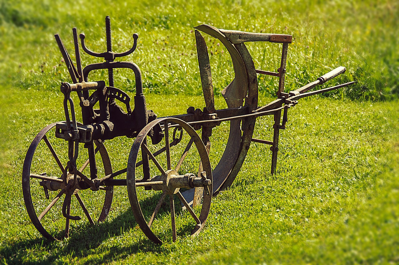 plough old device agriculture free photo