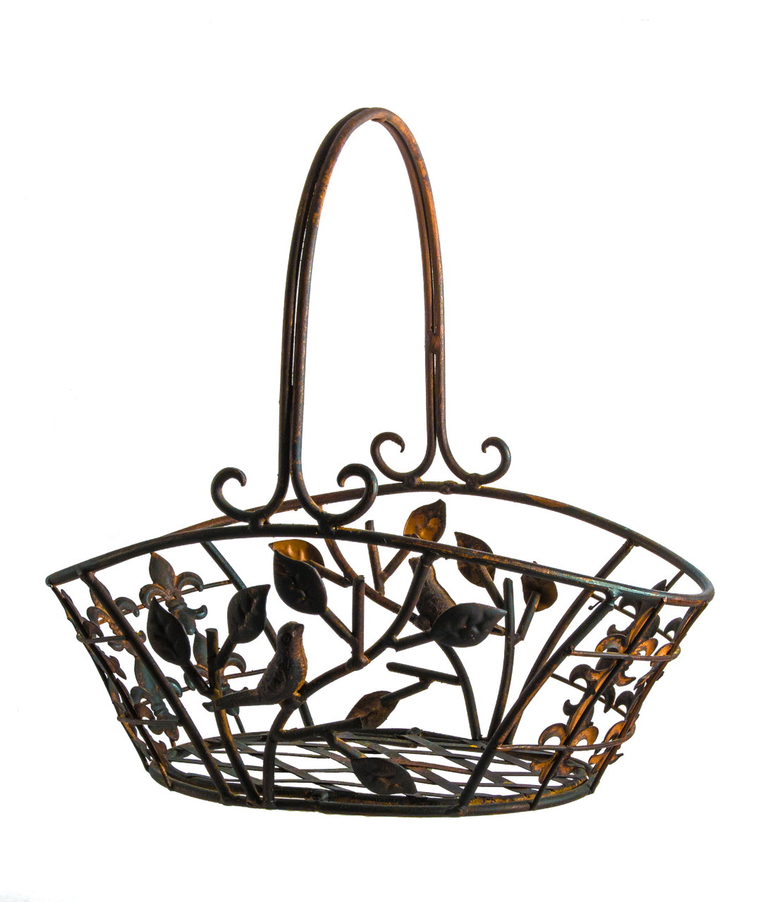 fruit bowl copper metal free photo