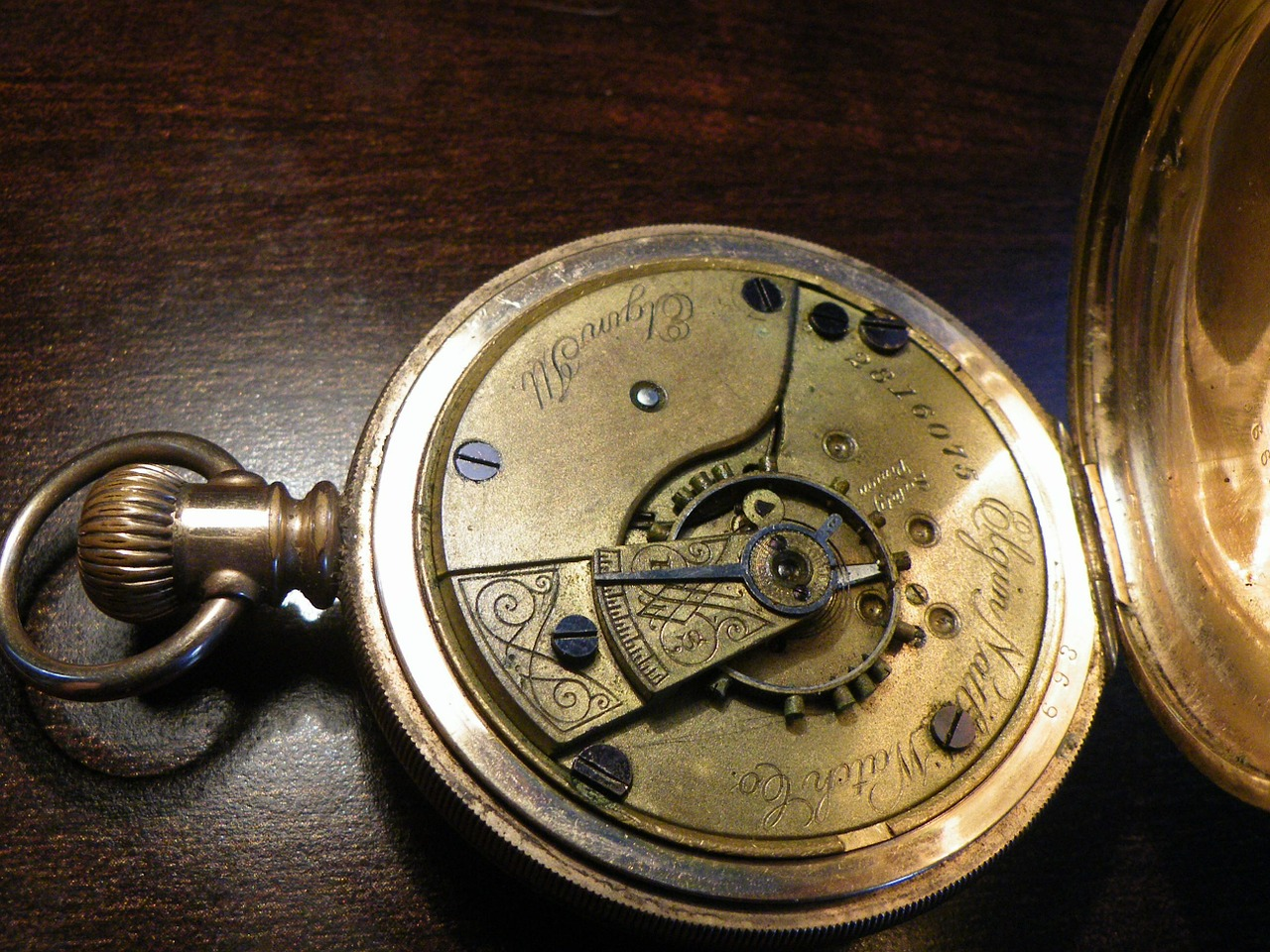 pocket watch watch gold free photo