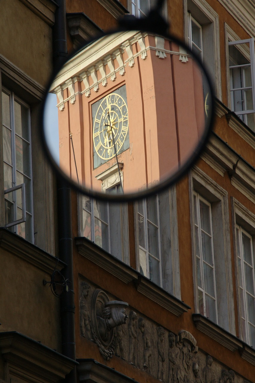 poland warsaw old town free photo