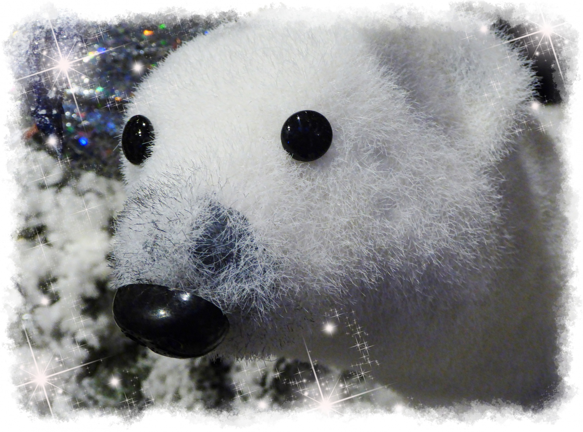 Christmas Polar Bear Bear Decoration Decor Free Photo From Needpix Com
